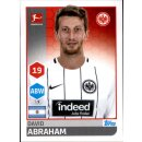 TOPPS Bundesliga 2017/2018 - Sticker 65 - David Abraham