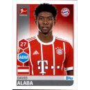 TOPPS Bundesliga 2017/2018 - Sticker 216 - David Alaba