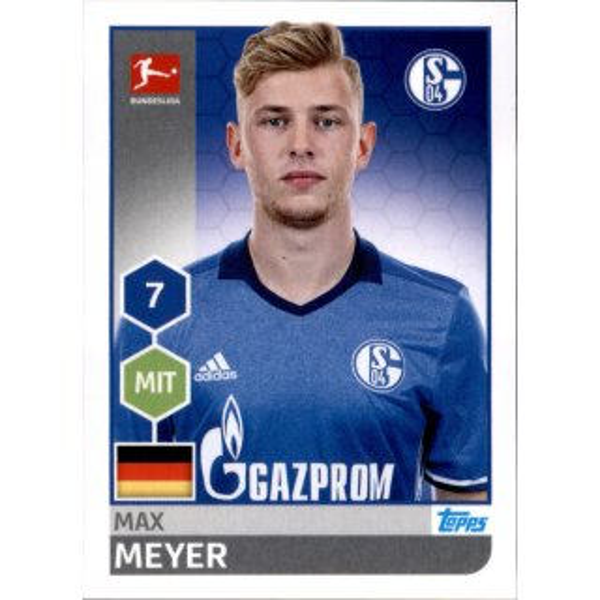 Sticker 207 Fabian Johnson TOPPS Bundesliga 2017//2018