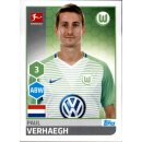 TOPPS Bundesliga 2017/2018 - Sticker 260 - Paul Verhaegh