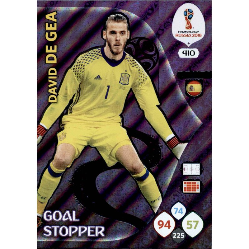 Panini wm World Cup Russia 2018-nº 407-Thibaut Courtois-goal Stopper