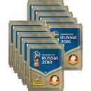 Panini WM Russia 2018 - Sticker - 10 Tüten