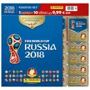 Panini WM Russia 2018 - Sticker - Starter Set 1 - 1 Album...