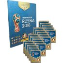 Panini WM Russia 2018 - Sticker - 1 Hardcover Album + 20...