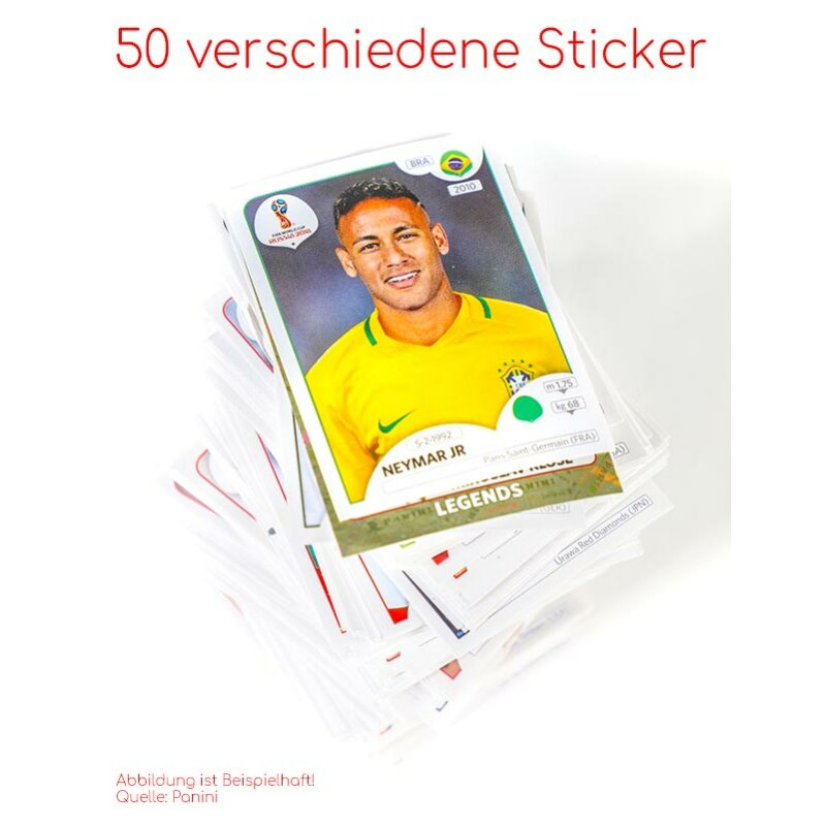 Panini WM 2018 Russia Sticker Sticker 533-551 Mannschaftspaket Panama