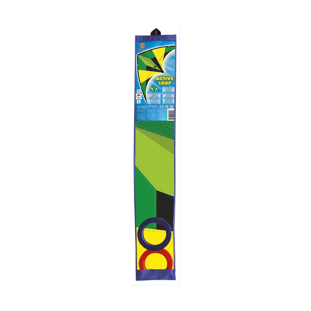 160 x 80 cm Drachen & Windspiele Black Loop Sportlenkdrachen ca