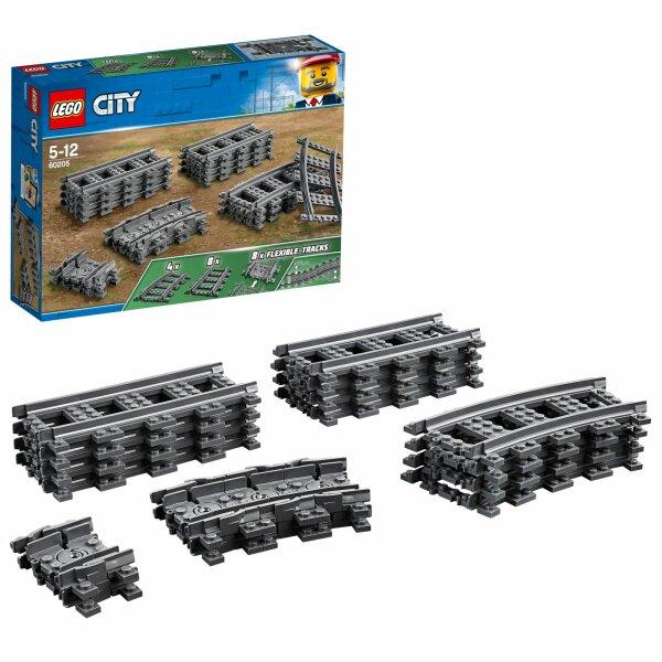 4 LEGO OFF ROAD TIRES W LIGHT GREY RIMS B704