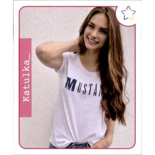 Sticker 30-Panini-Webstars 2018 Girls-katulka