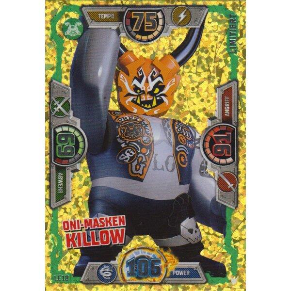 Le18 Oni Masken Killow Limitierte Auflage Lego Ninjago Serie 3