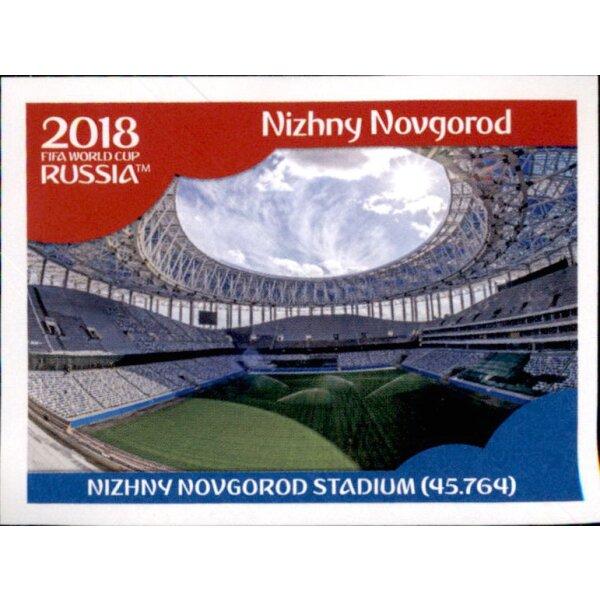 Panini WM 2018 World Cup Russia Ekaterinburg Arena Sticker 8 Stadien
