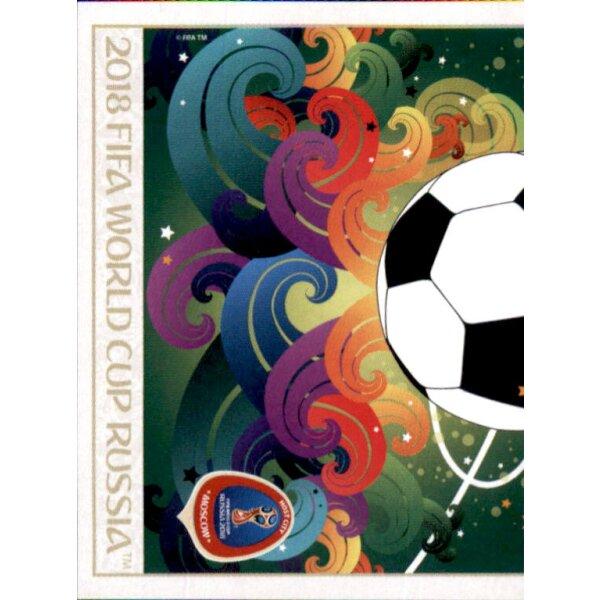 Poster der Spielorte Sticker 20 Panini WM 2018 World Cup Russia Moscow