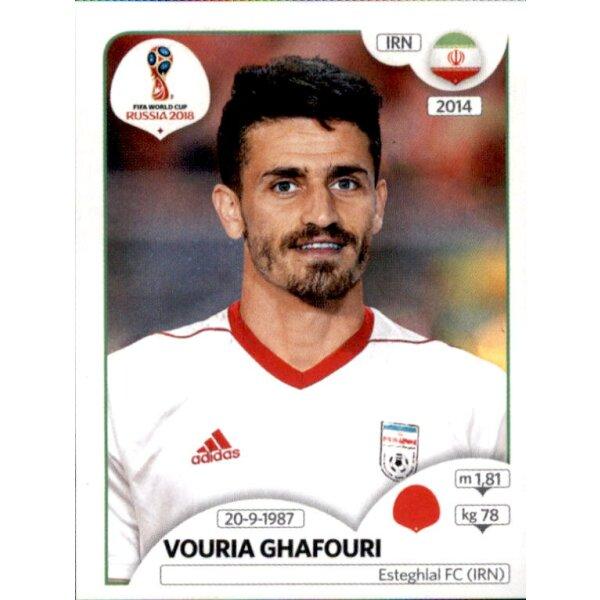 Panini WM 2018 World Cup Russia Sticker 36 Viktor Vasin Russland