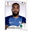 Panini WM 2018 - Sticker 208 - Alexandre Lacazette -...