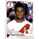 Panini WM 2018 - Sticker 238 - Christian Ramos - Peru
