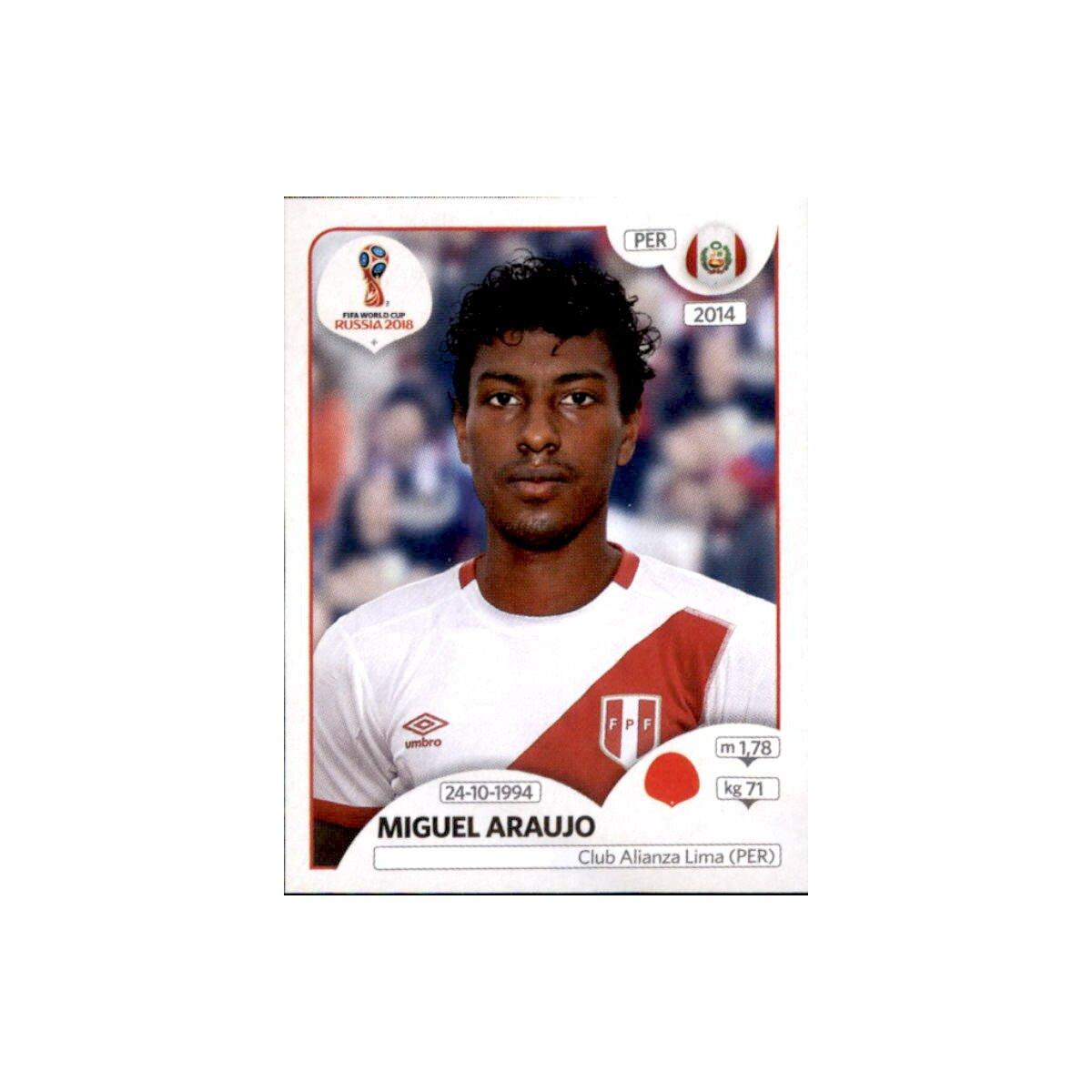Peru Panini WM 2018 World Cup Russia Sticker 236 Aldo Corzo