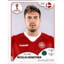 Panini WM 2018 - Sticker 268 - Nicklas Bendtner - Dänemark