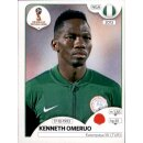Panini WM 2018 - Sticker 339 - Kenneth Omeruo - Nigeria