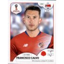 Panini WM 2018 - Sticker 398 - Francisco Calvo - Costa Rica