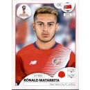 Panini WM 2018 - Sticker 400 - Rónald Matarrita - Costa Rica