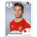 Panini WM 2018 - Sticker 418 - Matija Nastasic - Serbien
