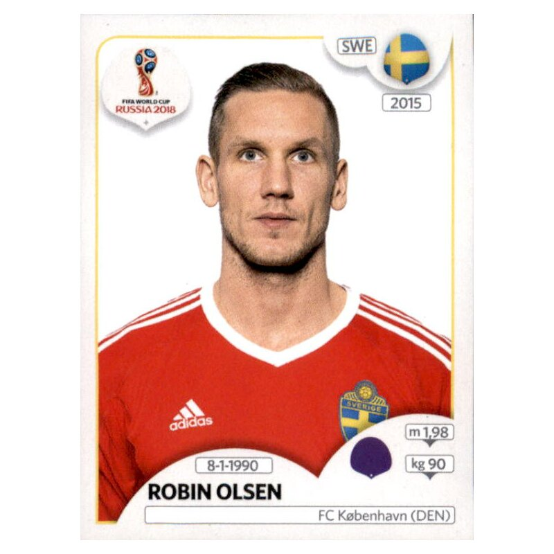 Schweden Panini WM 2018 World Cup Russia Emil Krafth Sticker 480