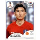 Panini WM 2018 - Sticker 500 - Koo Jacheol - Südkorea