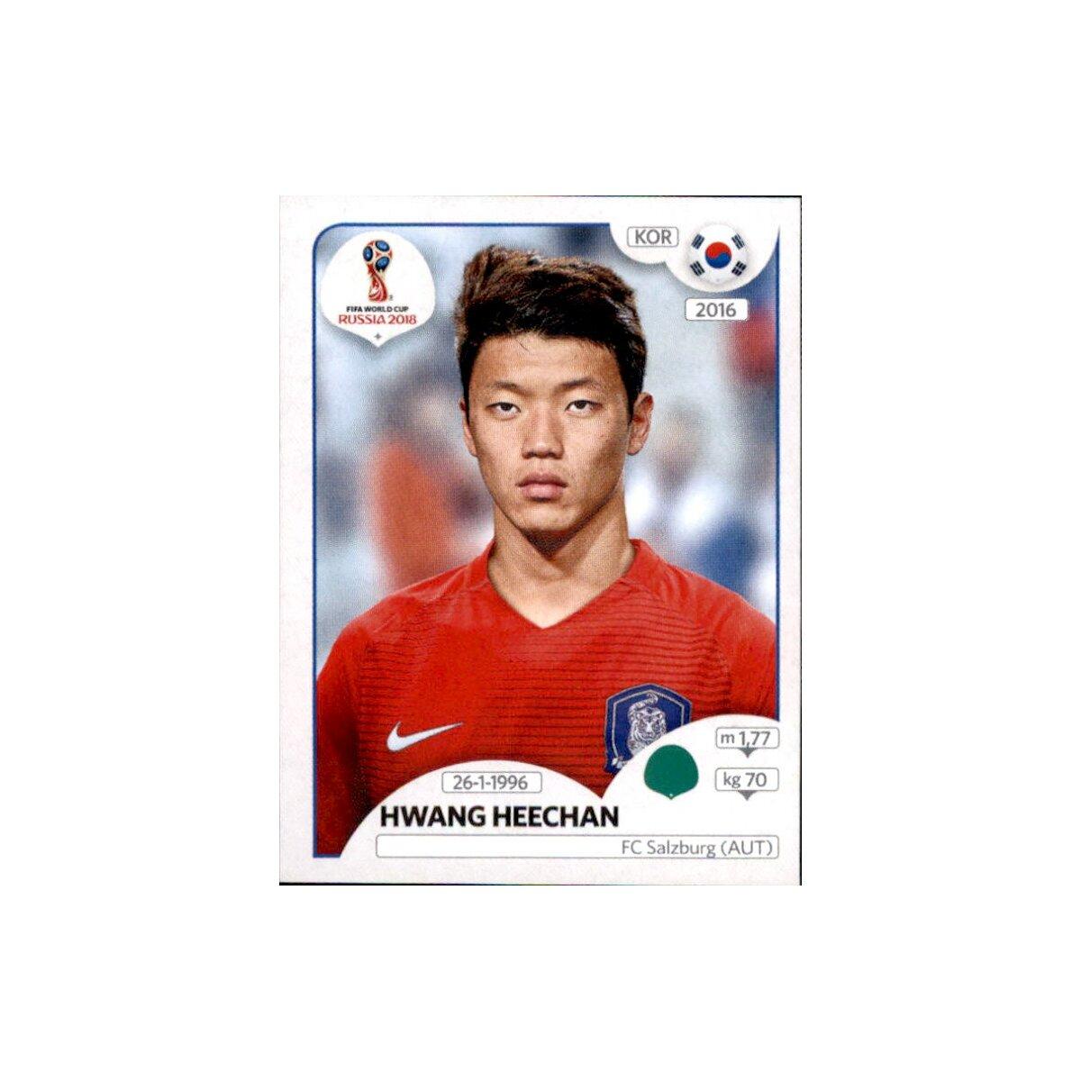 Mannschaftspaket Südkorea Sticker 493-511 Panini WM 2018 Russia Sticker