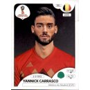 Panini WM 2018 - Sticker 528 - Yannick Carrasco - Belgien