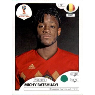 Panini WM 2018 - Sticker 530 - Michy Batshuayi - Belgien