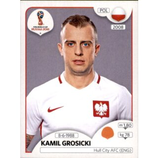 Panini WM 2018 - Sticker 604 - Kamil Grosicki - Polen