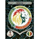 Panini WM 2018 - Sticker 612 - Senegal - Emblem - Senegal