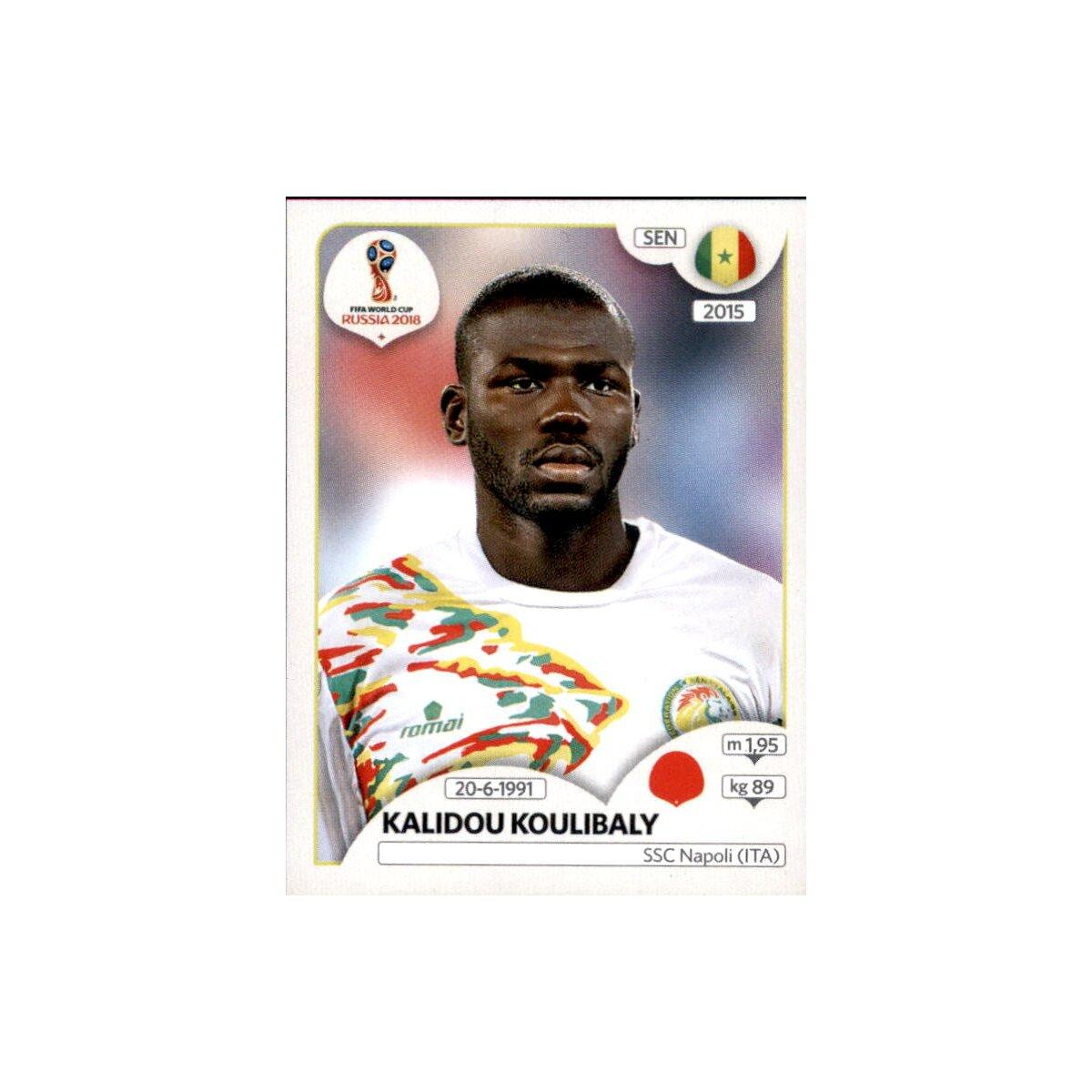 Panini WM 2018 World Cup Russia Senegal Sticker 623 Cheikh Ndoye