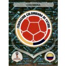 Panini WM 2018 - Sticker 632 - Kolumbien - Emblem -...