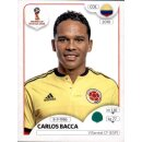 Panini WM 2018 - Sticker 648 - Carlos Bacca - Kolumbien