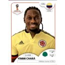 Panini WM 2018 - Sticker 650 - Yimmi Chará - Kolumbien
