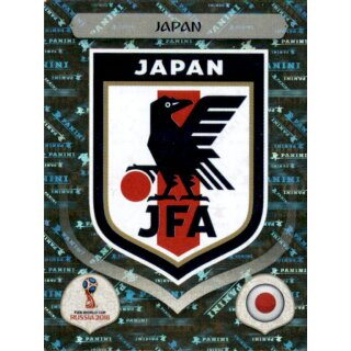 Panini WM 2018 - Sticker 652 - Japan - Emblem - Japan