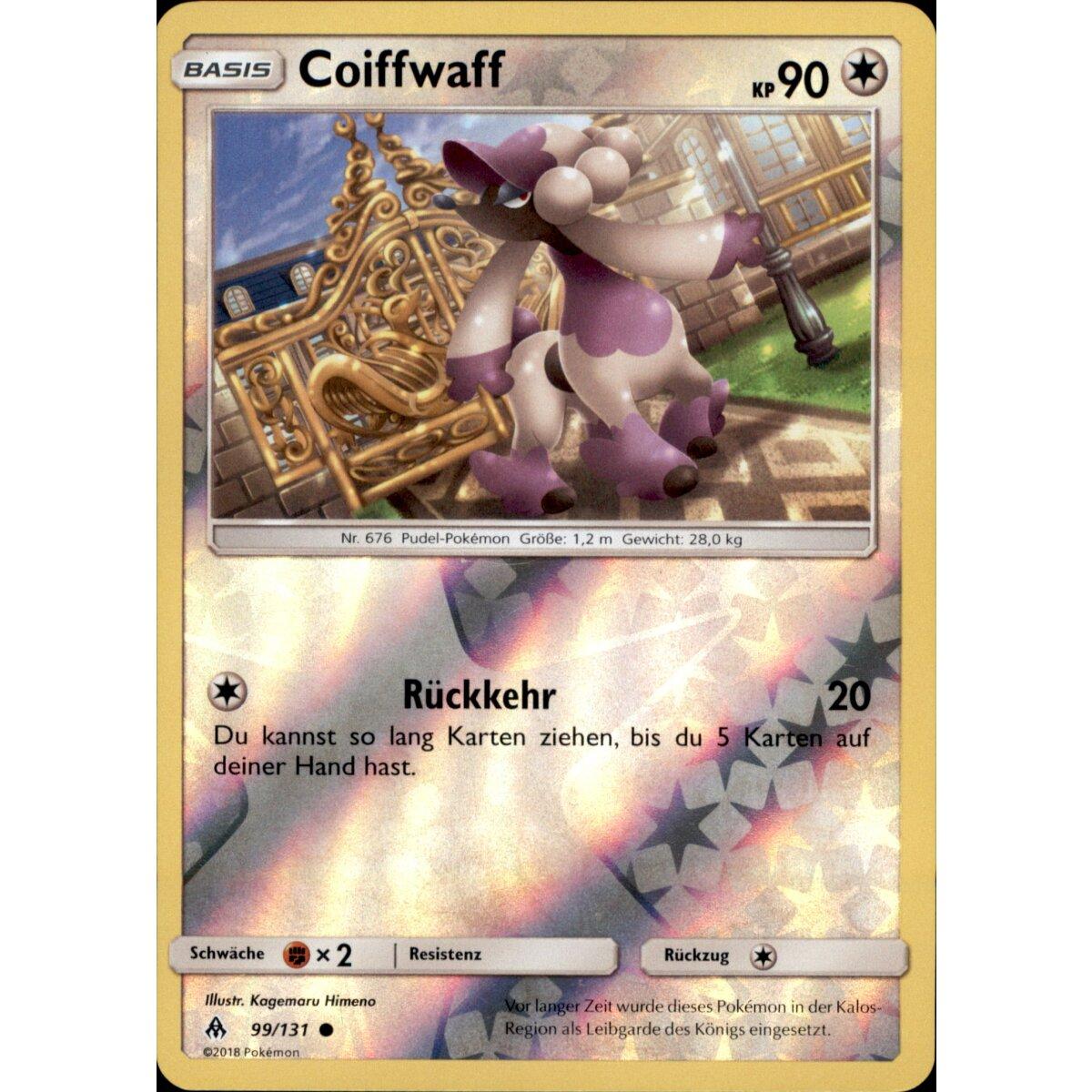 Könige Der Finsternis Karte.99 131 Coiffwaff Reverse Holo Grauen Der Lichtfinsternis