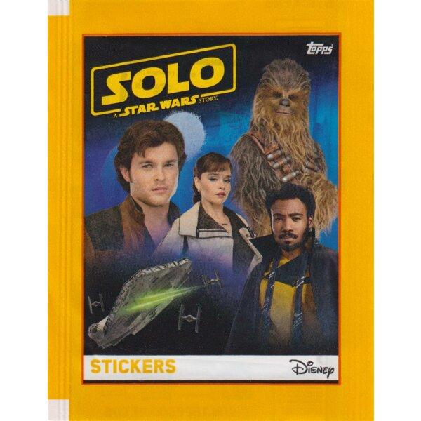 Topps-Star Wars-Solo-sammelsticker 1 album