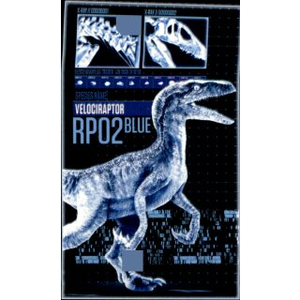 PANINI-Jurassic World Série 2-Sticker x6