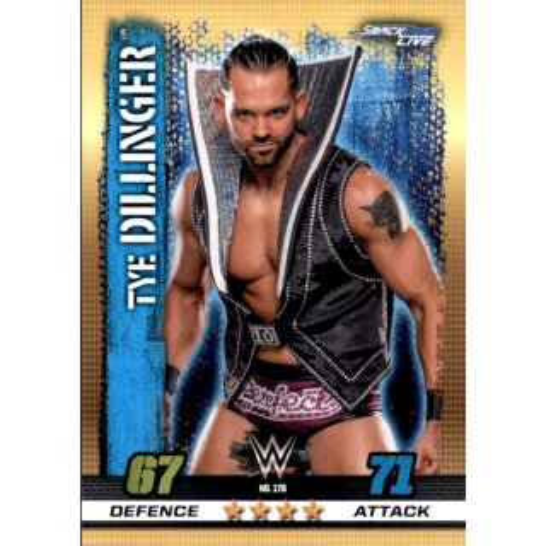 Nr WWE Slam Attax 137 Big E Smackdown Live 10th Edition
