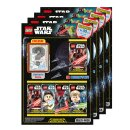 LEGO Star Wars - Serie 1 Trading Cards - Alle 4...