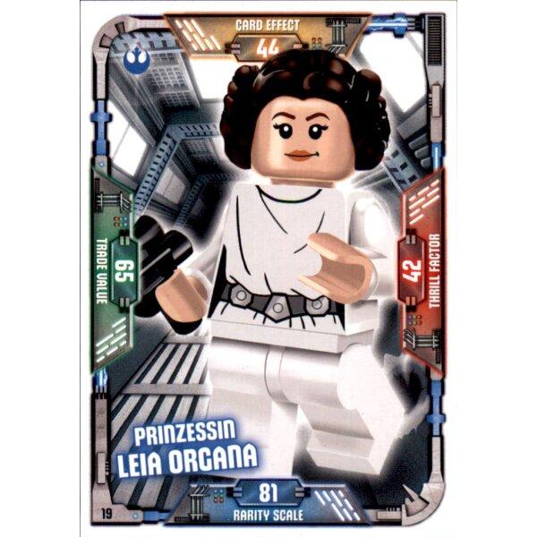 26 LEGO Star Wars Sammelkarten Serie 1 Padme Amidala