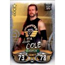 Karte 198 - Adam Cole - NXT - WWE Slam Attax - LIVE