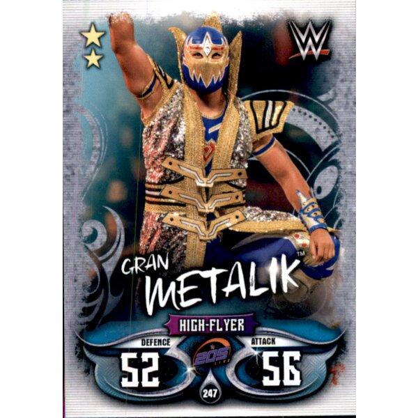 Topps Slam Attax Live-Carte 247-Gran METALIK 205 Live