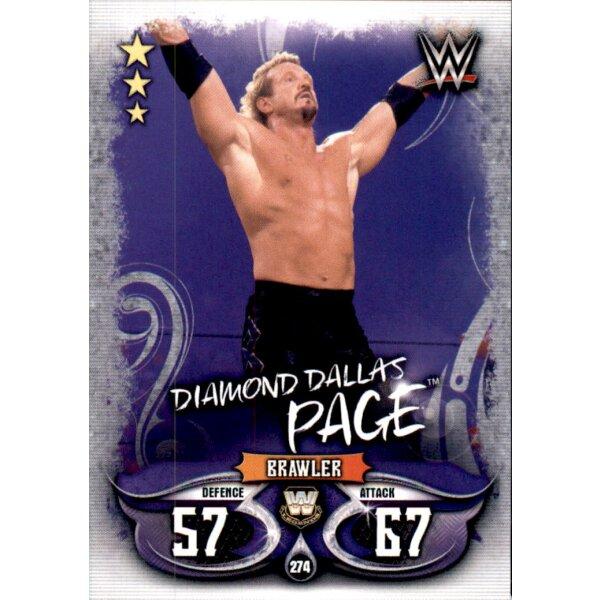Carte 13-AJ Styles-Champion-WWE Slam Attax-Live