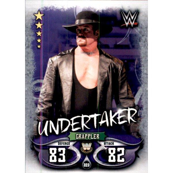 Topps Slam Attax Live-Carte 47-Undertaker vs Kane-Rivals