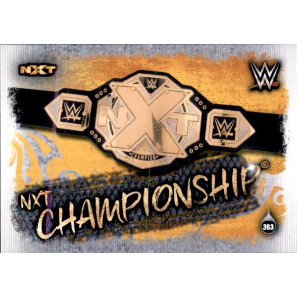 Topps Slam Attax Live-Carte 363-NXT championship