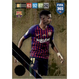 Fifa 365 cards 2019-ousmane debele-Limited Edition