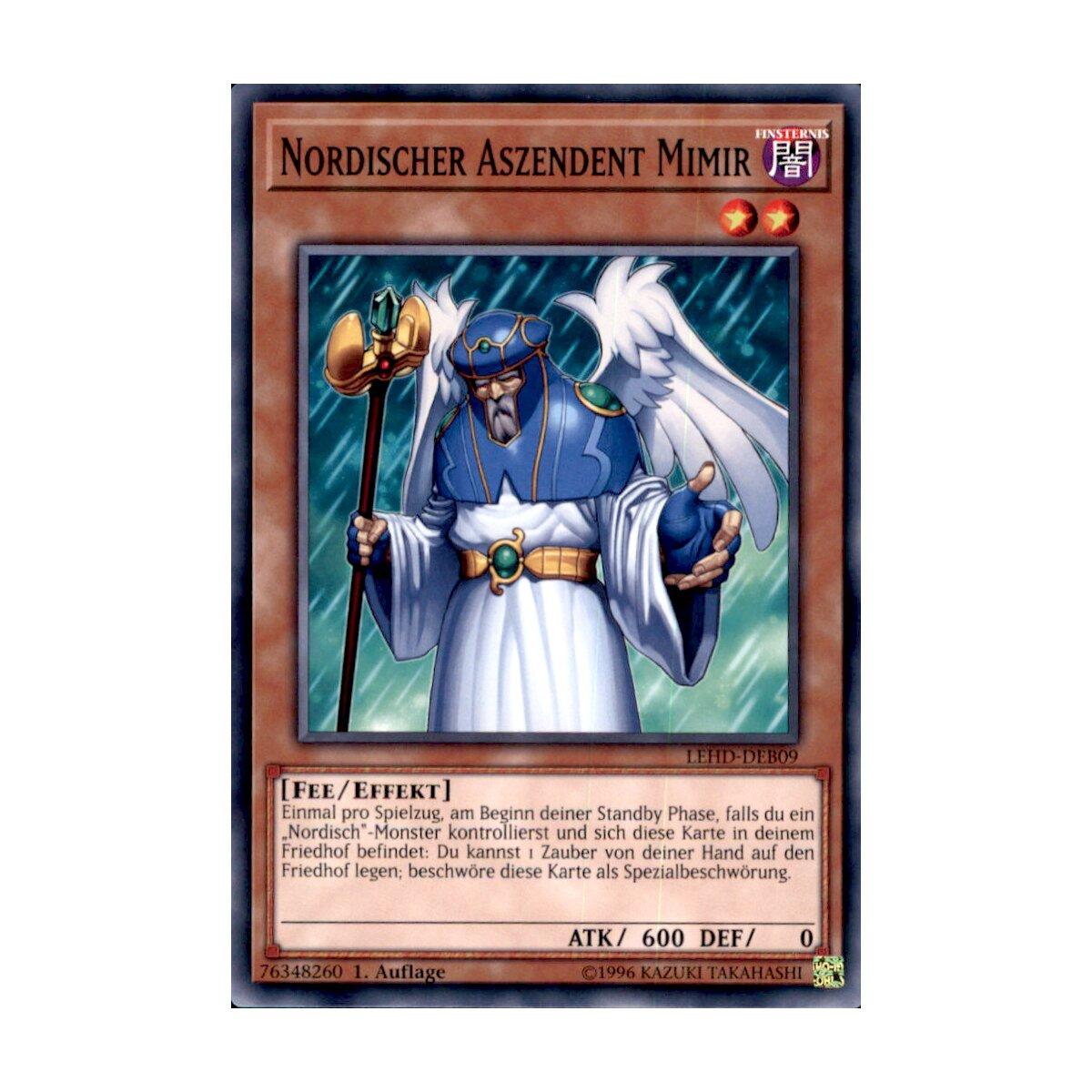 Yu-Gi-Oh! Einzelkarten Sammelkartenspiele/TCGs LEHD-DEA29 Ewige Furcht   Common 1.Auflage  Neu