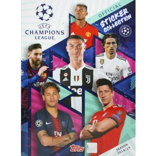 TOPPS - Champions League 2018/19 Sticker - 1 Album